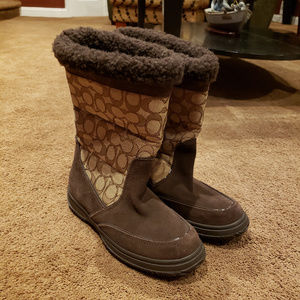 Coach Women's Sherman Signature Cold Weather Boot